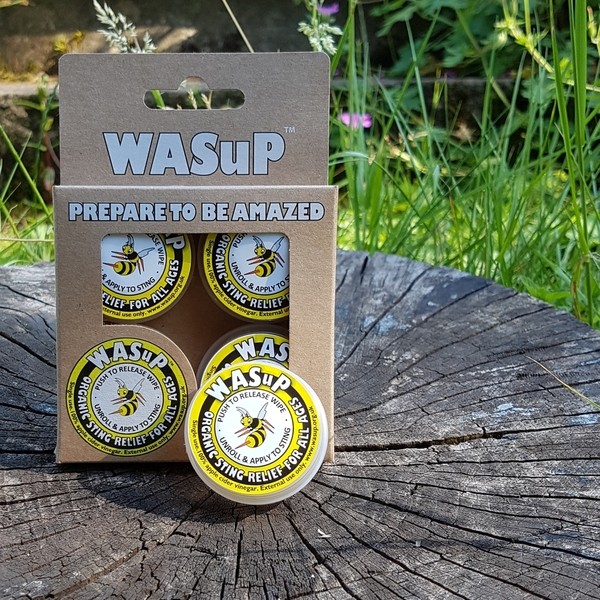 Single WASuP and pack of 4 WASuP with link to shop